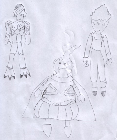 Dragon Ball - Majinbu, Goku e Freezer